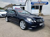 USED 2012 12 MERCEDES-BENZ E CLASS 2.1 E250 CDI BLUEEFFICIENCY S/S SPORT 2d AUTO 204 BHP Great Specification, 12 Months MOT & Service inc