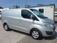USED 2018 18 FORD TRANSIT CUSTOM 2.0 290 LIMITED LOW ROOF, 129 BHP [EURO 6]