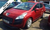 USED 2010 60 PEUGEOT 3008 1.6 ACTIVE HDI 5d 110 BHP