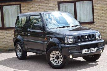 2011 SUZUKI JIMNY 1.3 SZ3 3d 85 BHP £4990.00