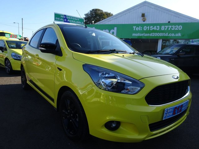 USED 2018 18 FORD KA+ 1.2 ZETEC COLOUR EDITION 5d 84 BHP ** 01543 877320 ** JUST ARRIVED **