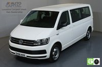 USED 2016 66 VOLKSWAGEN TRANSPORTER SHUTTLE 2.0 T32 TDI SHUTTLE 101 BHP EURO 6 ENGINE MINIBUS AIR CON, SERVICE HISTORY