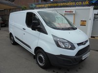 2016 FORD TRANSIT CUSTOM 2.2 290 SHORT WHEEL BASE DIESEL SIX SPEED   ONE LEASE COMPANY OWNER  FULL SERVICE HISTORY SPARE KEY   £7500.00