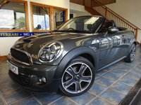 USED 2013 63 MINI ROADSTER 1.6 COOPER S 2d 181 BHP SUMMER IS HERE!!