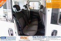 USED 2016 16 VAUXHALL COMBO VAN 1.2 2300 L1H1 CDTI * 5 SEATER CREW VAN *