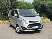 USED 2015 65 FORD TRANSIT CUSTOM 2.2 290 LIMITED LR DCB L2H1 Crew Cab One Owner | Double Cab