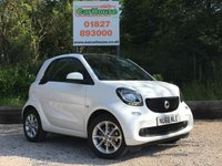 USED 2018 68 SMART FORTWO 1.0 PASSION 2dr Climate, Cruise, £0 Tax!