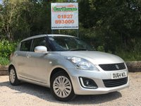USED 2014 64 SUZUKI SWIFT 1.2 SZ2 5dr £30 Per Year Road Tax!