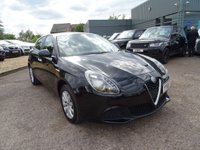 USED 2017 66 ALFA ROMEO GIULIETTA 1.4 TB 5d 120 BHP 2 ALFA ROMEO SERVICE STAMPS ONE OWNER FROM NEW