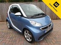 USED 2013 63 SMART FORTWO 1.0 PASSION 2d AUTO 84 BHP