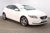 USED 2016 16 VOLVO V40 2.0 D3 SE LUX NAV 5DR SAT NAV HEATED LEATHER 1 OWNER 148 BHP  FULL SERVICE HISTORY + FREE 12 MONTHS ROAD TAX + HEATED LEATHER SEATS + SATELLITE NAVIGATION + PARKING SENSOR + BLUETOOTH + CRUISE CONTROL + CLIMATE CONTROL + MULTI FUNCTION WHEEL + XENON HEADLIGHTS + ELECTRIC WINDOWS + ELECTRIC MIRRORS + 17 INCH ALLOY WHEELS