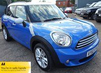 2012 MINI COUNTRYMAN 2.0 COOPER D ALL4 5d AUTO 110 BHP £9490.00