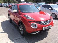 USED 2015 65 NISSAN JUKE 1.2 TEKNA DIG-T 5d 115 BHP High Spec With Sat Nav, Leather Interior and Parking Camera!