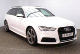 USED 2015 15 AUDI A6 AVANT 2.0 AVANT TDI ULTRA BLACK EDITION 5DR AUTO SAT NAV HALF LEATHER 1 OWNER 188 BHP FULL SERVICE HISTORY + HALF LEATHER SEATS + SATELLITE NAVIGATION + PARKING SENSOR + BOSE PREMIUM SPEAKERS + BLUETOOTH + CRUISE CONTROL + CLIMATE CONTROL + MULTI FUNCTION WHEEL + DAB RADIO + PRIVACY GLASS + ELECTRIC WINDOWS + ELECTRIC MIRRORS + 20 INCH ALLOY WHEELS