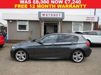 USED 2013 63 BMW 1 SERIES 2.0 116D M SPORT 5DR HATCHBACK DIESEL 114 BHP +++AUGUST SALE NOW ON+++