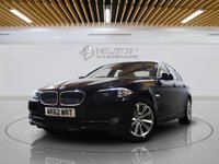 USED 2012 62 BMW 5 SERIES 2.0 520D SE 4d AUTO 181 BHP FULL BMW SERVICE HISTORY