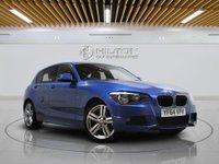 "USED 2014 64 BMW 1 SERIES 2.0 118D M SPORT 5d AUTO 141 BHP SAT NAV  | 18"" ALLOYS | PARKING SENSOR | FULLY SERVICED"