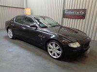 2006 MASERATI QUATTROPORTE SPORT GT 4.2 AB4 4d AUTO 400 BHP £12995.00