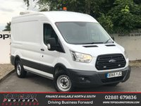 USED 2016 65 FORD TRANSIT 350 2.2 155 BHP L2 H2 AIR CON WORK STATION**CHOOSE FROM 85 VANS**