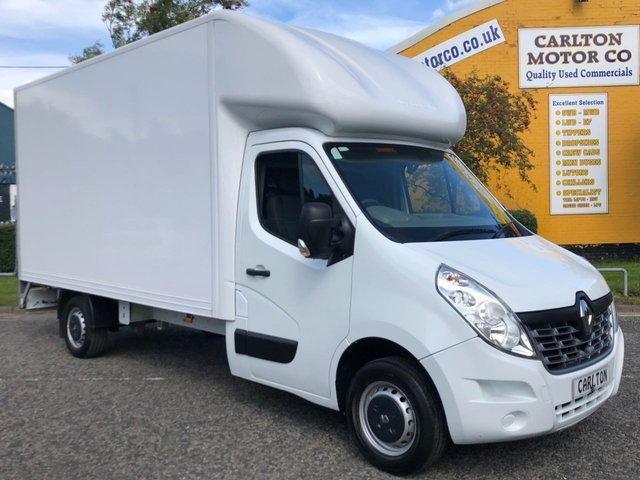 2016 66 RENAULT MASTER LL35 BUSINESS DCI 125 LUTON BOX + TAIL LIFT
