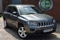 2012 JEEP COMPASS 2.4 LIMITED 5d AUTO 168 BHP £8490.00