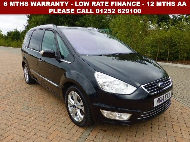 2014 Ford Galaxy Titanium TDCI £8,500