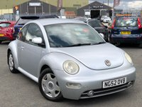 "USED 2003 52 VOLKSWAGEN BEETLE 1.8 20V T 3d 150 BHP *1.8 TURBO, AIR CON, 16"" ALLOYS*"