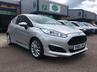 USED 2015 65 FORD FIESTA 1.6 SPORT TDCI 1d 94 BHP ALLOYS, A/C, BLUETOOTH, E/W, 6 MONTHS WARRANTY & FINANCE ARRANGED. 3 Services - Last Full Service with 2 New Front Tyres fitted on 12.08.19 @ 77,984 Miles, A/C, heated screen, cruise control, Bluetooth, alloys, E/W, DAB Radio, power fold mirrors, auto lights, Drivers airbag, Factory fitted bulk head, colour coded, side loading door, load lined, Very Good Condition, 1 Owner, remote Central Locking, Drivers Airbag, Steering Column Radio Control,  finance arranged on site & 6 months Warranty