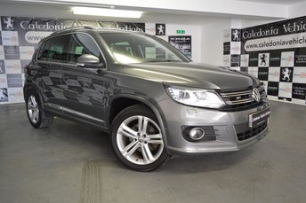 2012 VOLKSWAGEN TIGUAN 2.0 R LINE TDI BLUEMOTION TECHNOLOGY 4MOTION 5d 139 BHP £10995.00