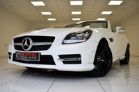 USED 2015 65 MERCEDES-BENZ SLK 250D AMG SPORT AUTOMATIC