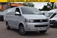 USED 2015 15 VOLKSWAGEN TRANSPORTER 2.0 T28 TDI TRENDLINE 1d 101 BHP NO VAT on this 2015 Vw Transporter T28 2.0tdi 102 Trendline in silver metallic with bluetooth and cruise control.