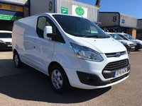 2016 FORD TRANSIT CUSTOM 2.2 290 LIMITED L1 H1 124 BHP £9000.00