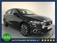 USED 2018 67 FIAT TIPO 1.4 LOUNGE 5d 94 BHP FULL FIAT HISTORY - 1 OWNER - SAT NAV - REAR SENSORS - CAMERA - AIR CON - BLUETOOTH - DAB - CRUISE