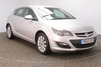 USED 2012 62 VAUXHALL ASTRA 2.0 SE CDTI S/S 5DR HALF LEATHER SEATS 163 BHP FINISHED IN A STUNNING SILVER + SERVICE HISTORY + £30 12 MONTHS ROAD TAX + HALF LEATHER SEATS + CRUISE CONTROL + MULTI FUNCTION WHEEL + AIR CONDITIONING + RADIO/CD/AUX + ELECTRIC WINDOWS + ELECTRIC MIRRORS + 17 INCH ALLOY WHEELS