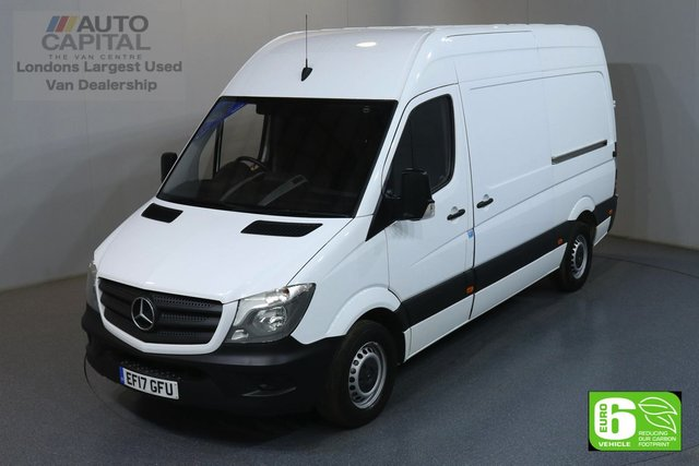 2017 17 MERCEDES-BENZ SPRINTER 2.1 314CDI 140 BHP MWB HIGH ROOF EURO 6 ENGINE ONE OWNER, SERVICE HISTORY