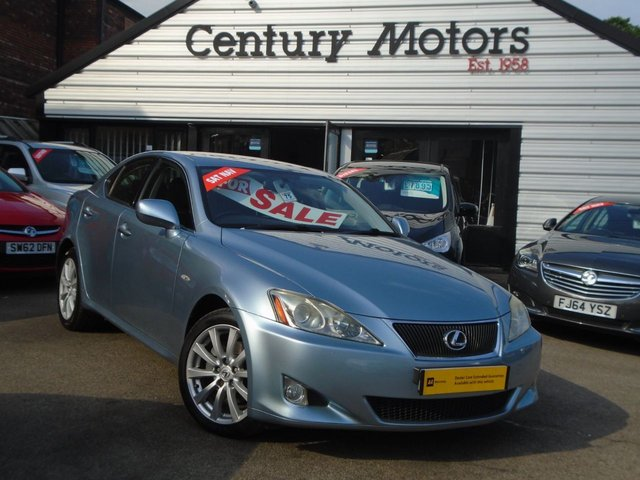 2008 08 LEXUS IS 2.2 220D SE 4d [175] + FULL LEATHER