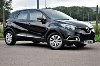 USED 2014 64 RENAULT CAPTUR 1.5 dCi ENERGY Expression + (s/s) 5dr £0 ROAD TAX+1 FORMER KEEPER
