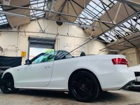 USED 2010 02 AUDI A5 CABRIOLET 3.0 TDI S line Cabriolet S Tronic quattro 2dr STUNNER! NAV B@O SOUND ! 4wd