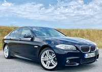 USED 2012 62 BMW 5 SERIES 3.0 535d M Sport 4dr GLASS ROOF! HEADS UP! PRO NAV!