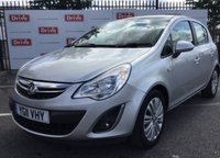 USED 2011 11 VAUXHALL CORSA 1.4 SE 5d AUTO 98 BHP Automatic, 5 door, 54000 miles, superb. Alloys, air/con, half leather, superb.