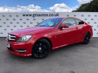 USED 2012 61 MERCEDES-BENZ C CLASS C180 COUPE AMG SPORT EDITION 125 AUTO 158 BHP BLUEEFFICIENCY