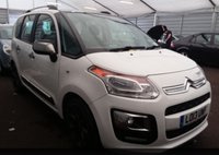 2013 CITROEN C3 PICASSO 1.6 PICASSO SELECTION HDI 5d 91 BHP £4795.00