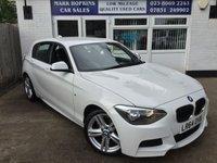 2014 BMW 1 SERIES 2.0 116D M SPORT 5d 114 BHP £12995.00