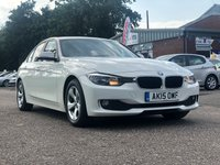USED 2015 15 BMW 3 SERIES 2.0 320D EFFICIENTDYNAMICS 4d 161 BHP NAVIGATION SYSTEM *  PRIVACY GLASS *  BLUETOOTH *  HEATED SEATS *  DAB RADIO *  FULL YEAR MOT *