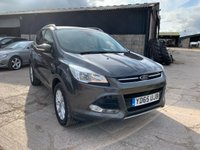 USED 2015 65 FORD KUGA 2.0 TITANIUM TDCI 5d AUTO 177 BHP YD65UJB 2015 FORD KUGA 2.0 TITANIUM 4x4 TDCI DIESEL 5 DOOR AUTOMATIC 177 BHP 4WD SUV FINANCE AVAILABLE FSH MOT WARRANTY CLIMATE & CRUISE CONTROL