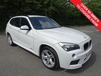 USED 2013 13 BMW X1 2.0 XDRIVE20D M SPORT 5d 181 BHP