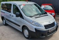 USED 2012 62 PEUGEOT EXPERT 2.0 HDI TEPEE COMFORT L1 5d 98 BHP Wheel Chair Access Vehicle - 2 Owners - Low Miles