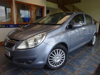 USED 2008 08 VAUXHALL CORSA 1.2 CLUB A/C 16V 5d 80 BHP INSURANCE GROUP 4! 60 MPG!