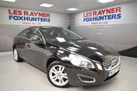 USED 2012 62 VOLVO S60 1.6 D2 SE LUX 4d 113 BHP Full Leather, Bluetooth, Cruise control, Xenon headlights