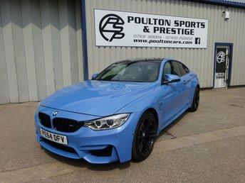 2014 BMW M4 3.0 M4 2d AUTO 426 BHP £27680.00